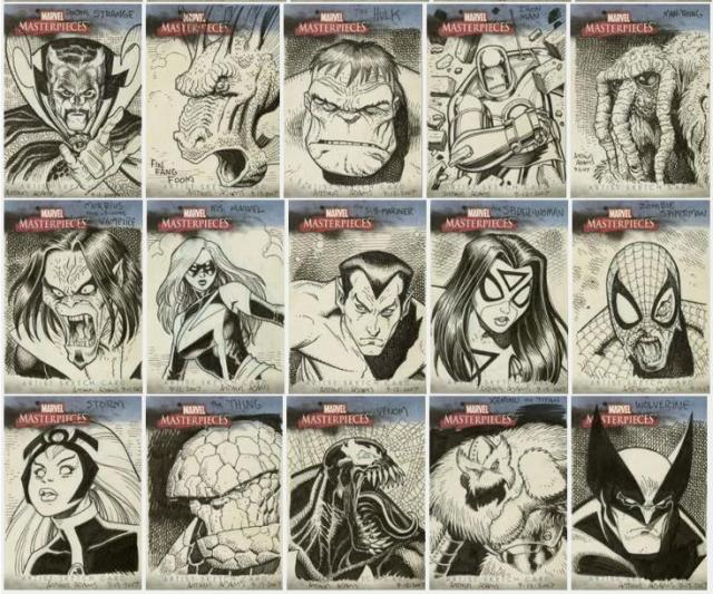 The Honorable Art Adams: Aliens and Sketch Cards. | The Sketchcard Saloon.