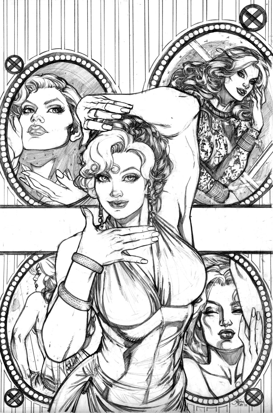 Adriana Melo Adriana Melo Takes Our Breath Away The Sketchcard Saloon