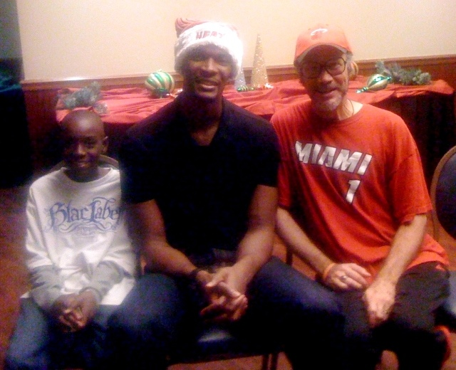 Chris Bosh Christmas Party