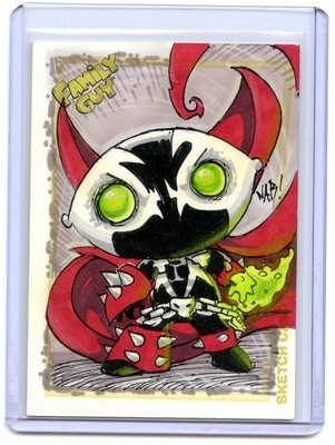 Best Spawn Sketch Card Ever by Nar!