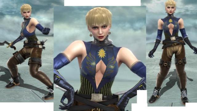 Soul Calibur Girl With Rings