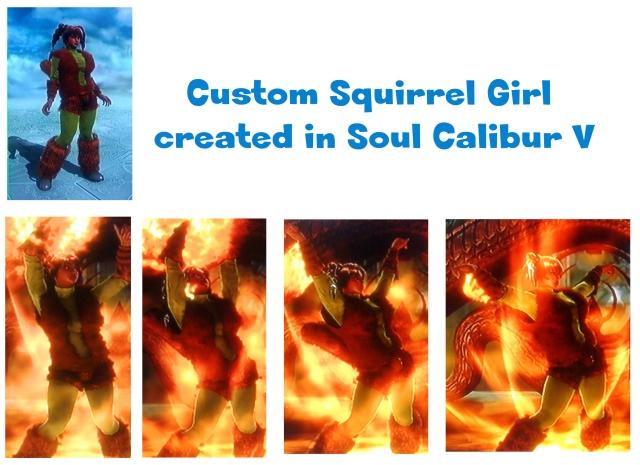 squirrel girl in soul calibur v