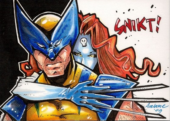 axebone wolverine and mystique