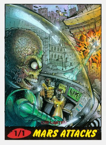 Nar Mars Attacks Sketch Card 3