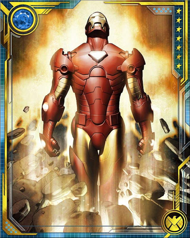 arc reactor iron man marvel war of heroes