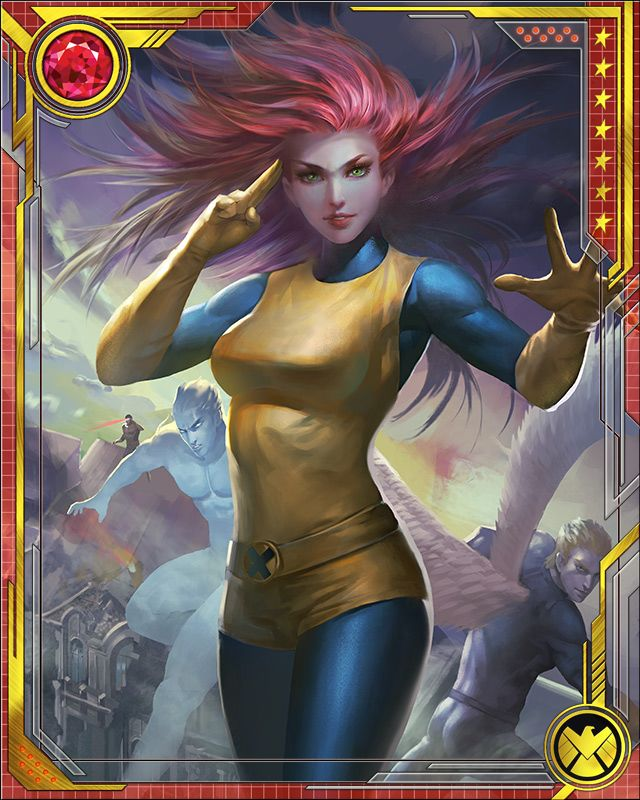 marvel war of heroes jean grey