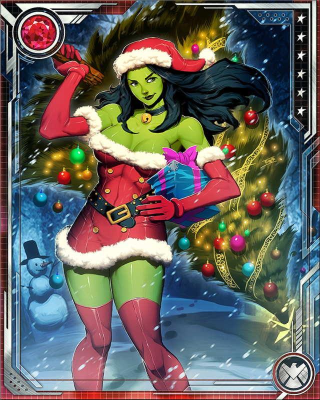 santa she hulk