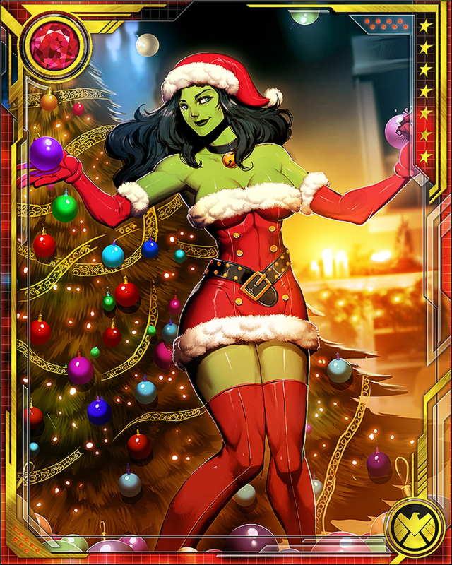 she hulk santa