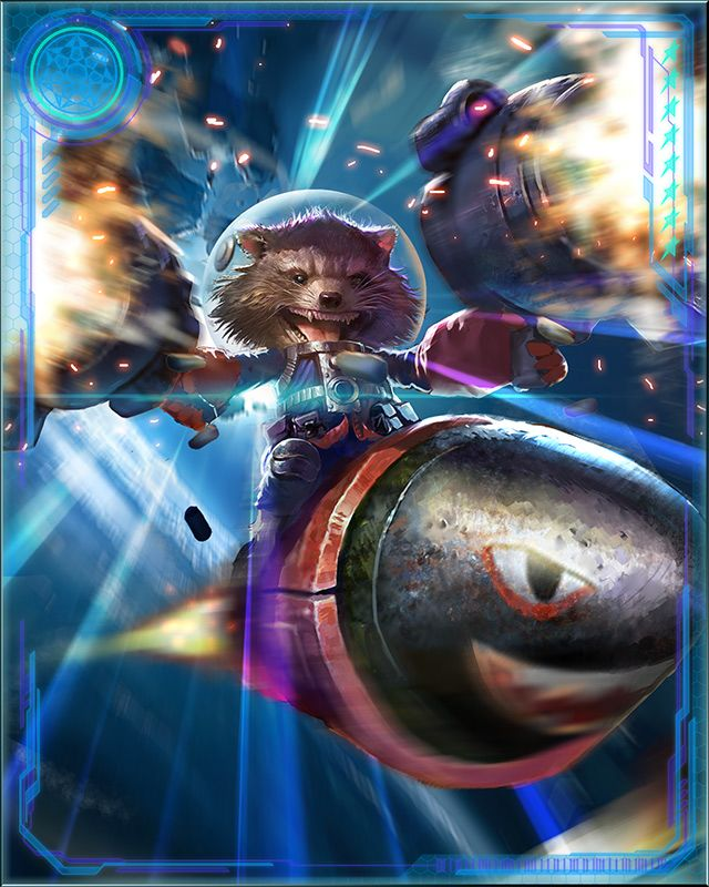 Rocket Racoon Marvel War of Heroes
